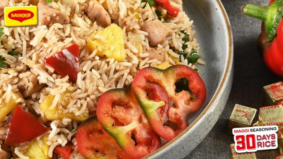 Chicken Hawaiian Fried Rice