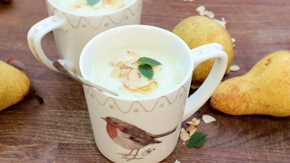 Zupa krem z pietruszki i gruszki