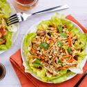 Oystar Asian-Style Salad (Chicken and Lettuce)