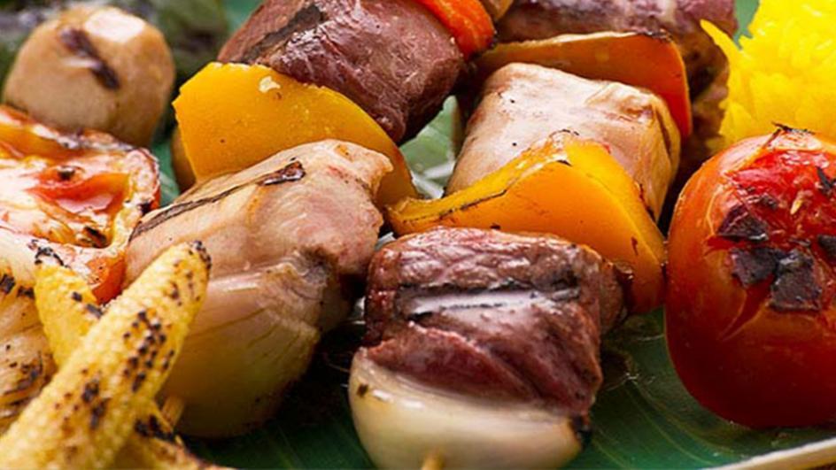 Chicken & Mutton Kebab