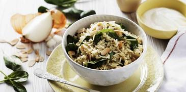 Moroccan Spiced Pilaf