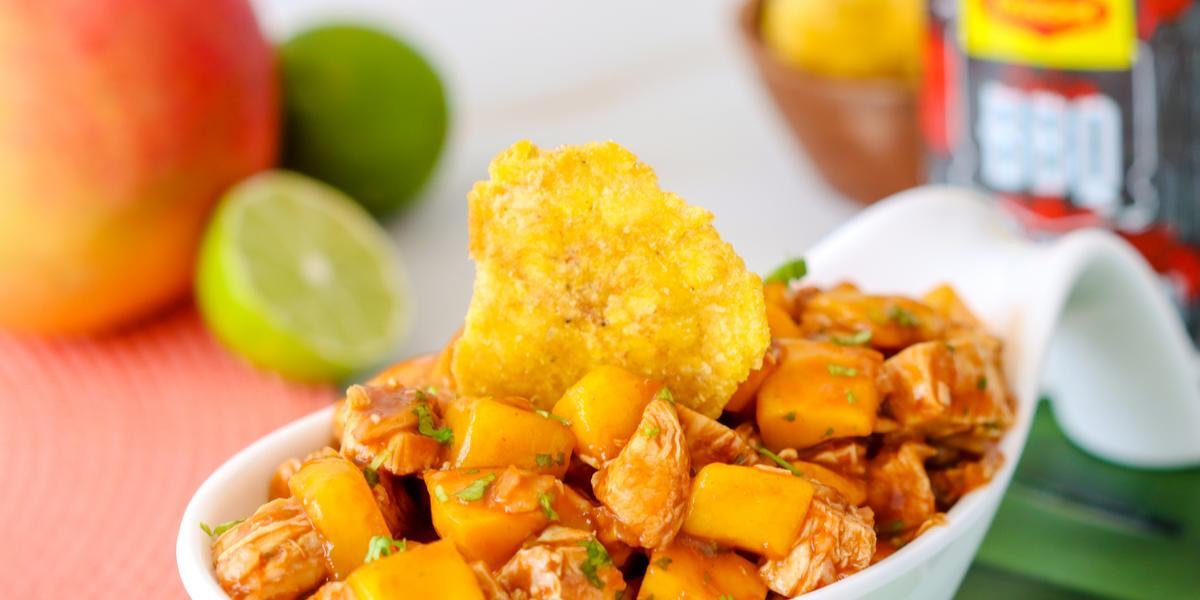 Ceviche de Mango con Pollo