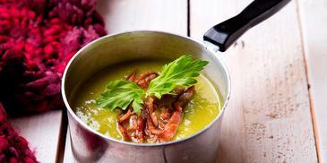 Σούπα κρέμα αρακά
