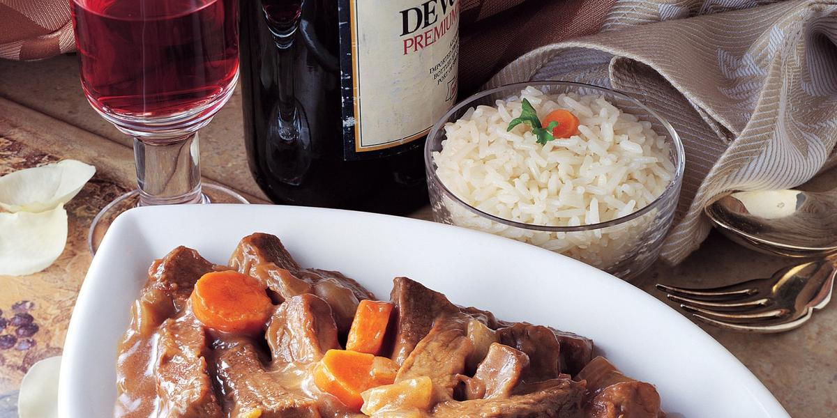 Beef in Red Wine