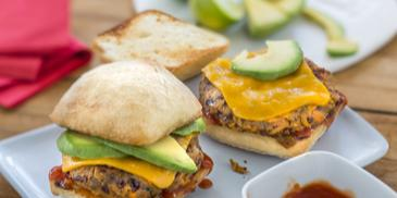 Tex Mex Bean-Burger