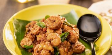 Andhra Prawn Iguru Recipe