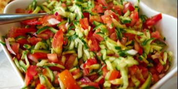 Salata de legume proaspete