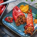 Gefüllte Spitzpaprika mit Mexikanischer Bolognese