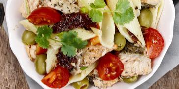 Salata s oslićem