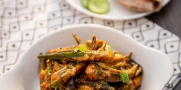 Saucy Bharwan Bhindi Recipe
