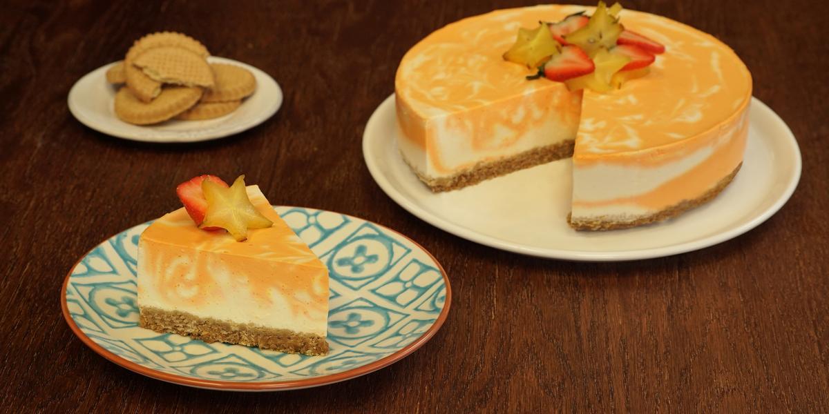 Cheesecake de camote
