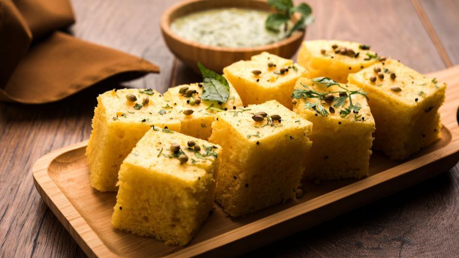 Veggie Khaman Dhokla Recipe