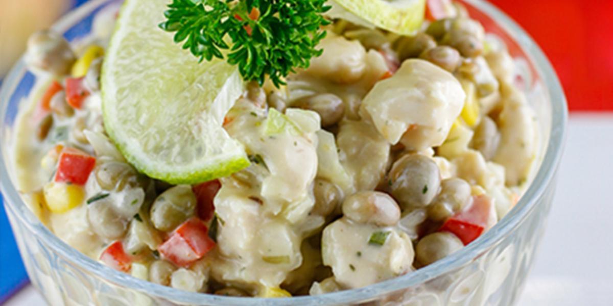 Ceviche pollo y guandú ®