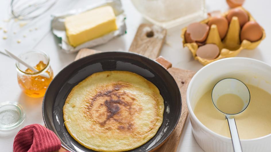 Pfannkuchen Grundteig