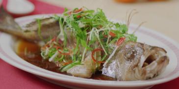 Ikan Kerapu Stim