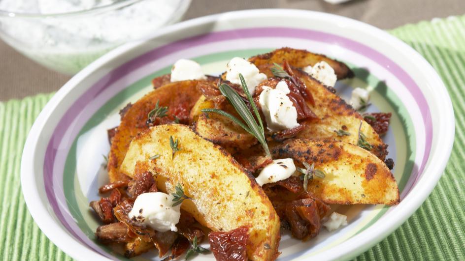 """Ofenkartoffeln """"Tomate-Mozzarella"""""""