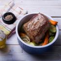 Ψητό φιλέτο μοσχαρίσιο με λαχανικά
