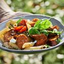 Sommerlicher Pasta-Salat mit Sensational Bratwurst Mexican Style