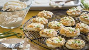 Zwiebelkuchen-Häppchen