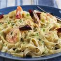 Linguine with Prawns and Creamy Thai Sauce