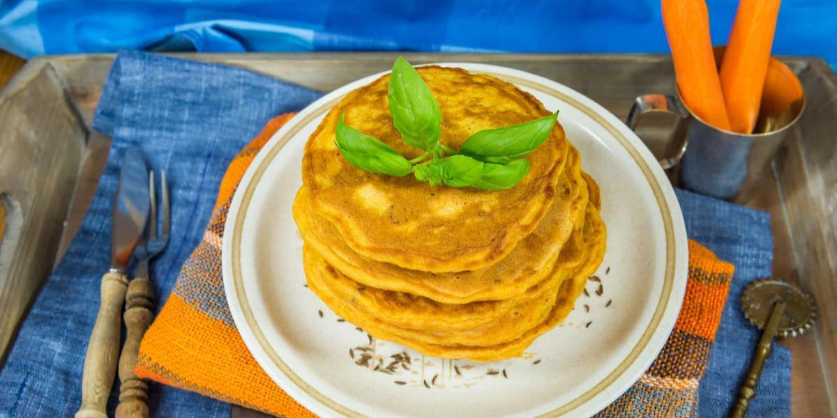 Pancakes Esponjositos de Zanahoria con NIDO® NUTRIADVANCE®