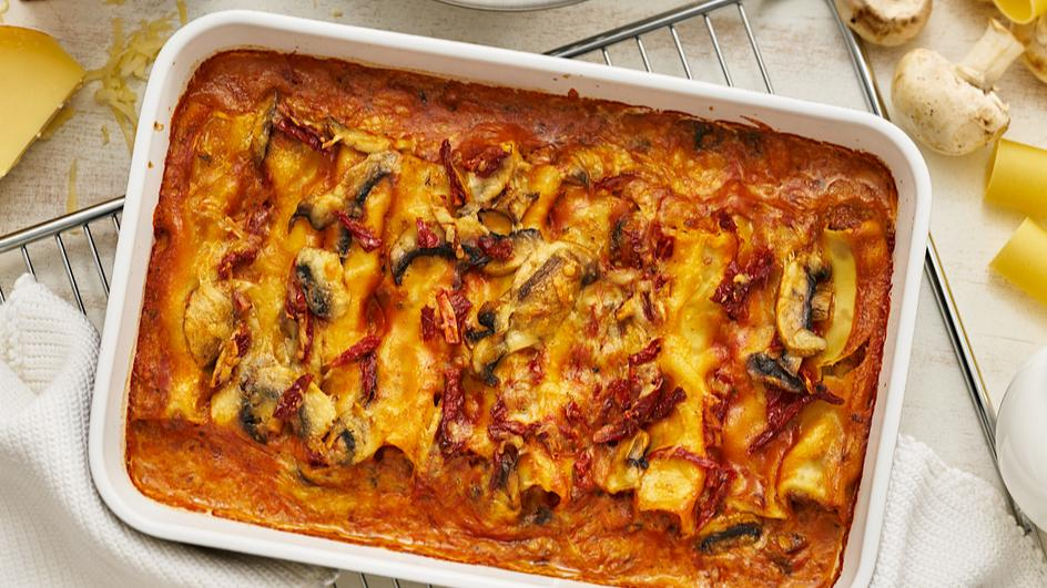 Ofen-Cannelloni mit Hackfleischfüllung