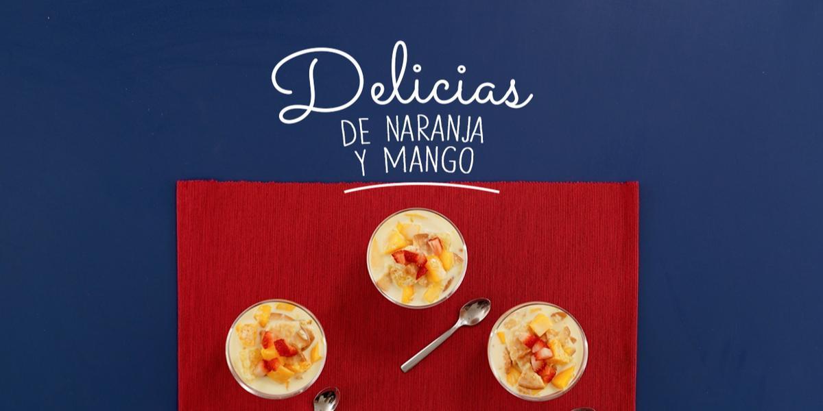 Delicias de Naranja y mango.