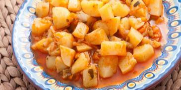Iahnie de cartofi de post