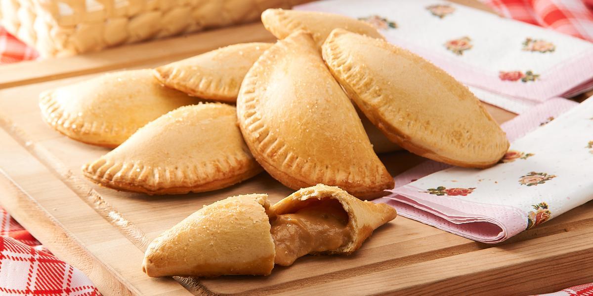 Empanadas de Pera con Manjar
