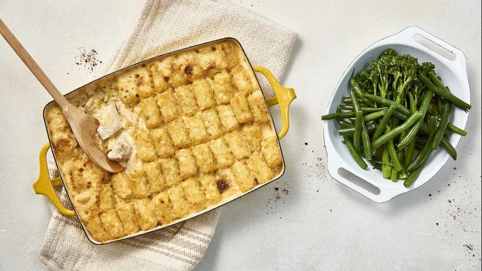 Chicken & Potato Gem Bake