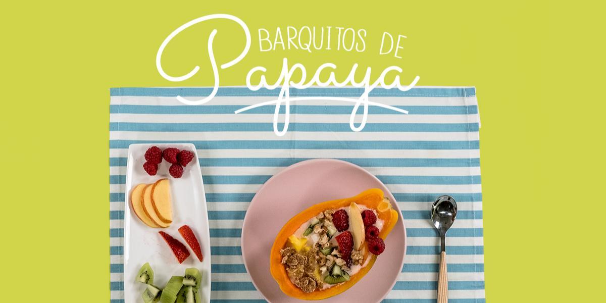 Barquitos de papaya