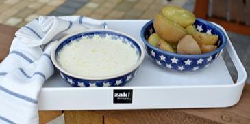 Biała polewka – zupa maślankowa z ziemniakami
