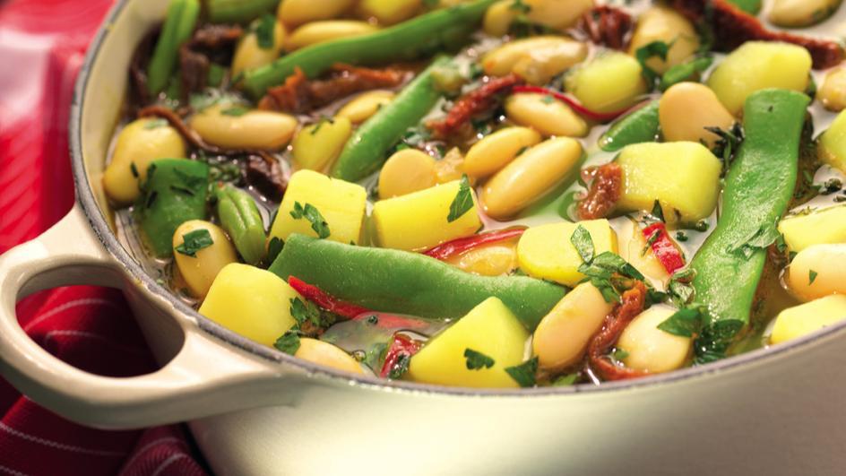 Bohnen-Kartoffel-Eintopf