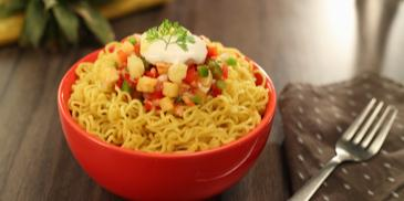 Pineapple MAGGI Noodles Salsa Recipe