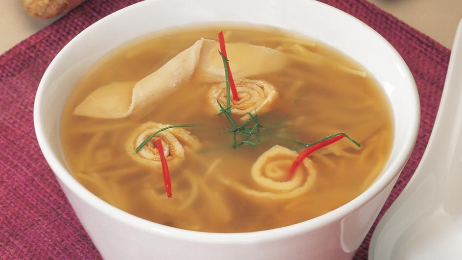 Asian Chicken Noodles Soup