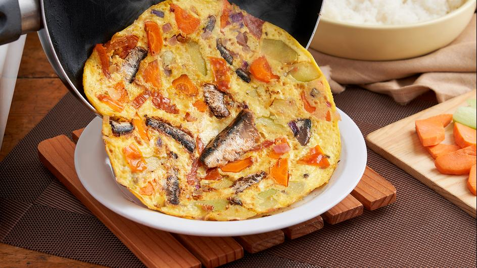 ALL-IN-ONEderful Tortang Sardinas