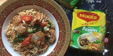 Maggi Hailam Chicken 1-2-3