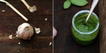 Pistou – zielony dodatek do zupy