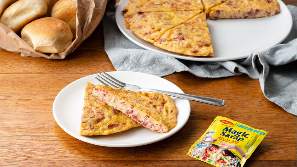 All-in-One Tortang Corned Beef