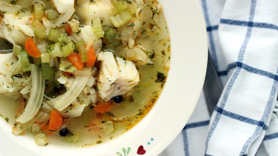 Zupa rybna z dorsza po kaszubsku