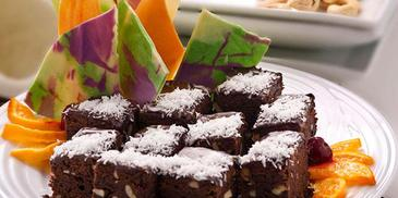 Coconut & Chocolate Brownies