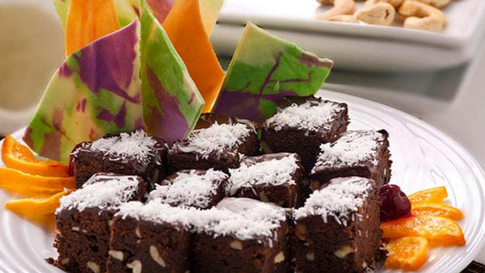 Coconut & Chocolate Brownies