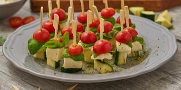 Tomate-Mozzarella-Tapas