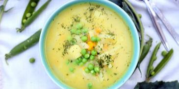 Zupa kalarepowa dla dzieci