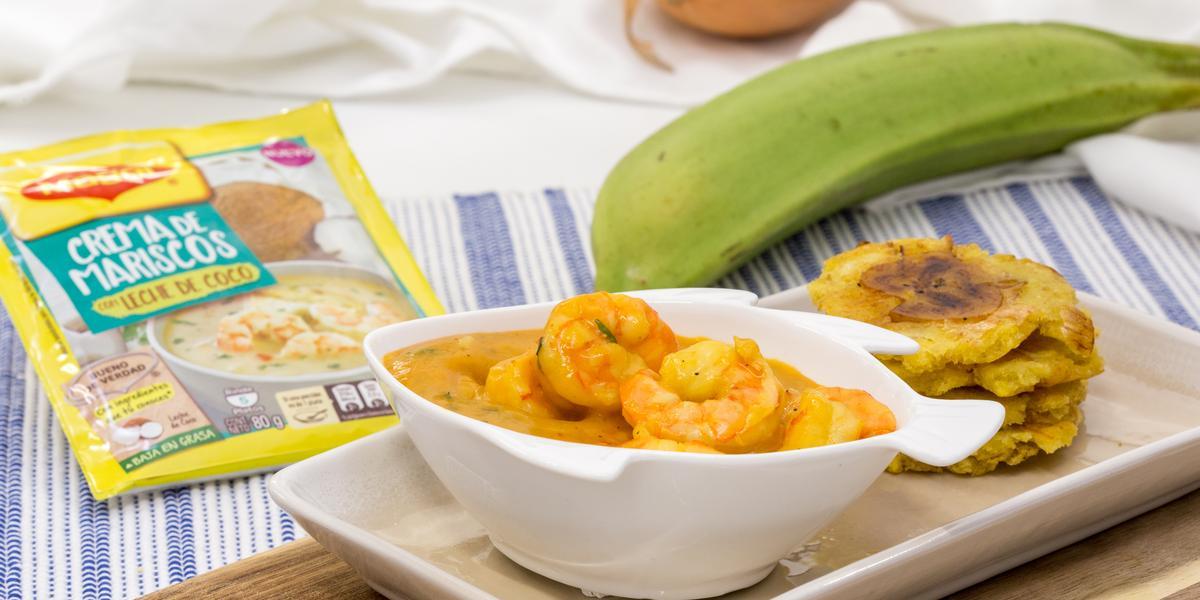 Camarones en Salsa de Curry