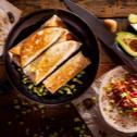 Τορτίγιες με κιμά και αβοκάντο