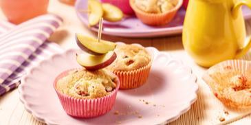 Pflaumen-Mini-Muffins