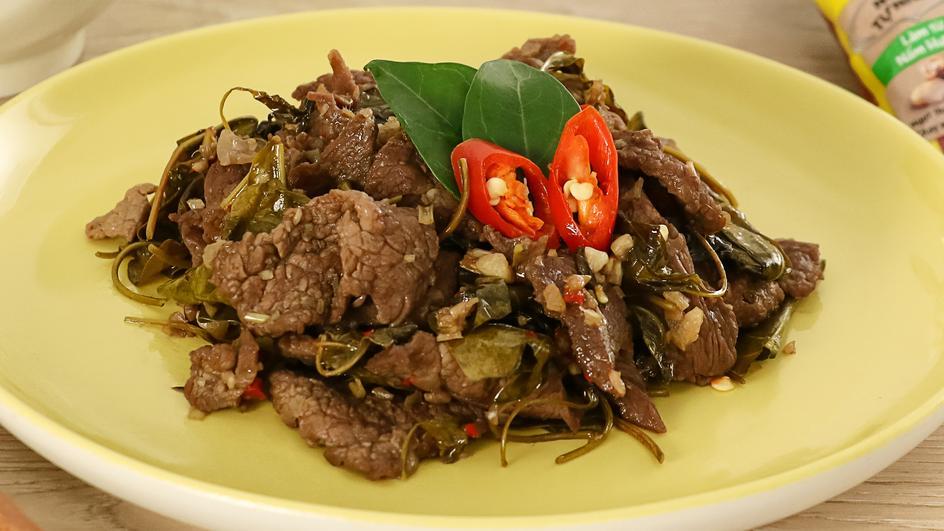 Bò Xào Lá Giang