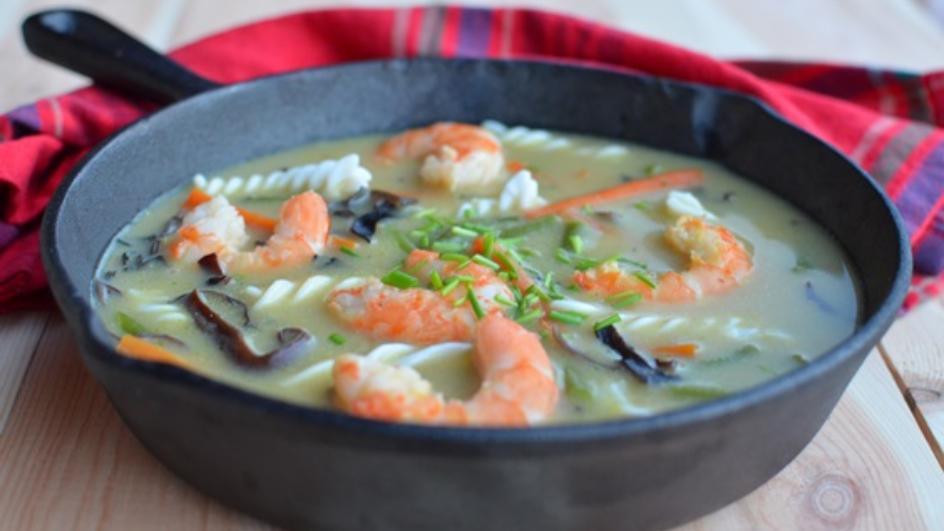 Zupa krewetkowa po tajsku