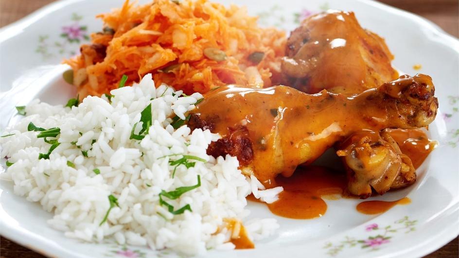 Kurczak w śmietankowym curry